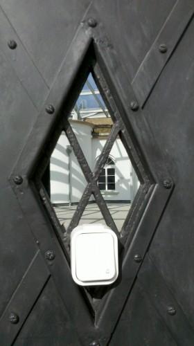 Drzwi Fort Sokolnickiego