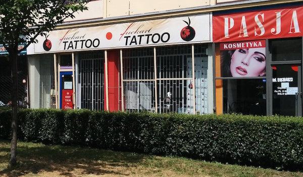 Fuckart Tattoo